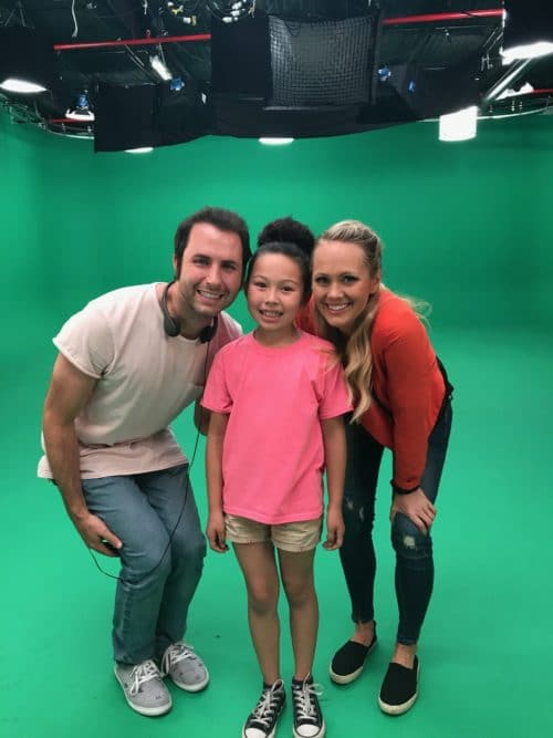 Meilee Condron On Set Q Wunder - Season 2